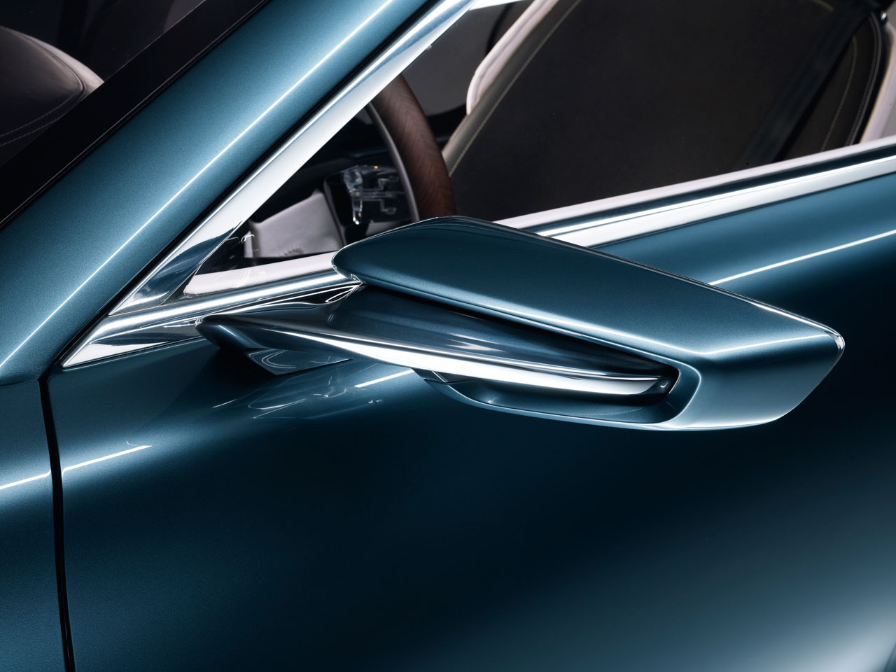 volvo concept you side mirror car body design. Black Bedroom Furniture Sets. Home Design Ideas