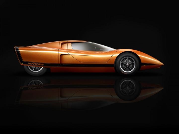 Holden Restores The 1969 Hurricane Concept Car Body Design