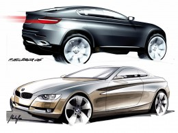 BMW Design Sketches