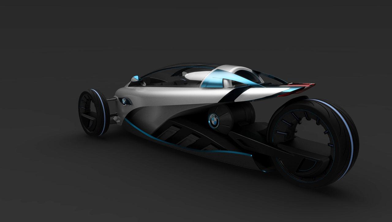 Bmw I1 Concept Car Body Design