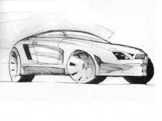 Car-Pen-Sketch-by-Konstantinos-Tsiopanos
