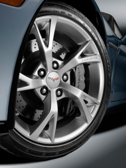 Corvette Carlisle Blue Grand Sport Concept Wheel