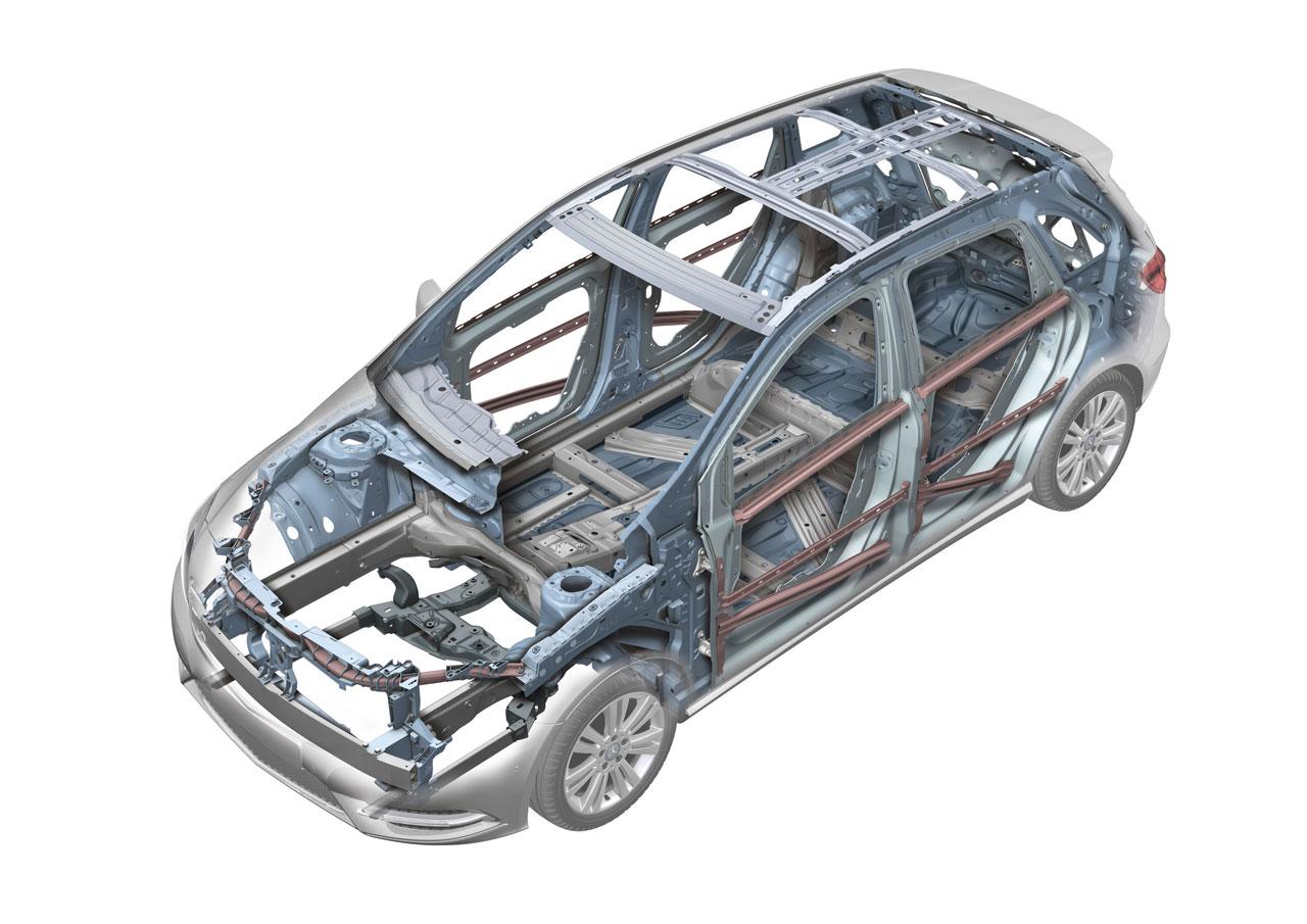 Mercedes Benz B Class Body In White Car Body Design