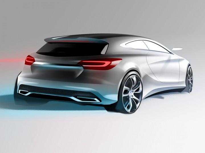 Mercedes benz concept a class new videos car body design for New mercedes benz concept