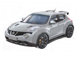 Nissan Juke-R Design Sketch