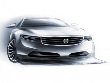 Poetra Art Design Volvo Concept You Design Sketches