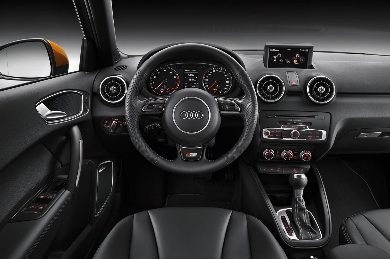 Audi A1 Sportback S Line Interior Car Body Design
