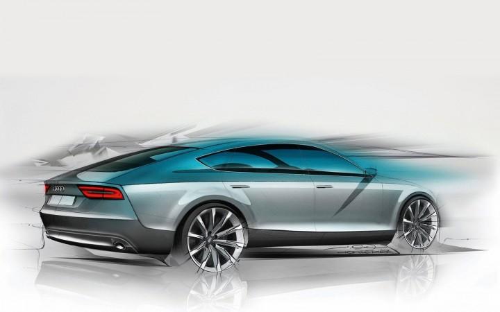audi a7 sportback design video car body design. Black Bedroom Furniture Sets. Home Design Ideas