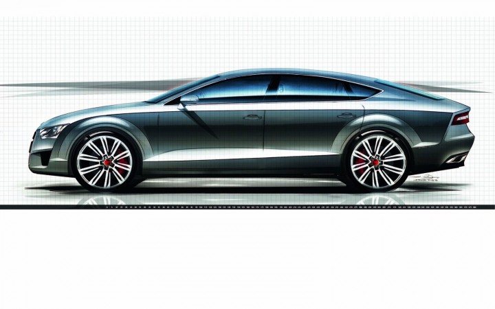 audi a7 sportback design video car body design. Black Bedroom Furniture Sets. Home Design Ideas