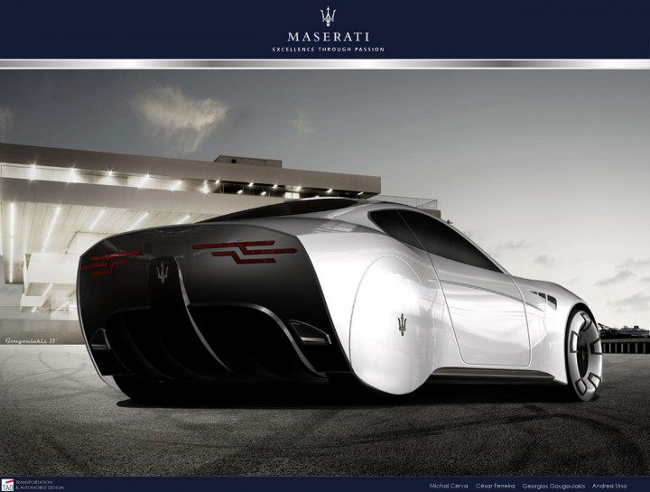Maserati Granturismo 2020 Concept Car Body Design