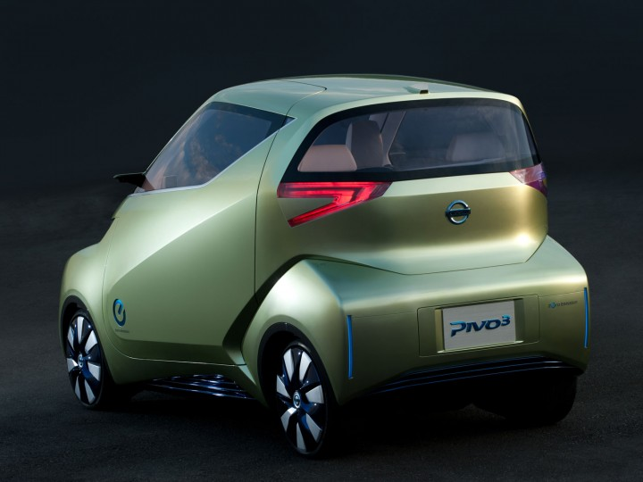 Nissan Pivo 3 Concept Car Body Design