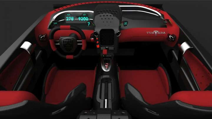 SSC Tuatara: interior preview - Car Body Design - photo#5