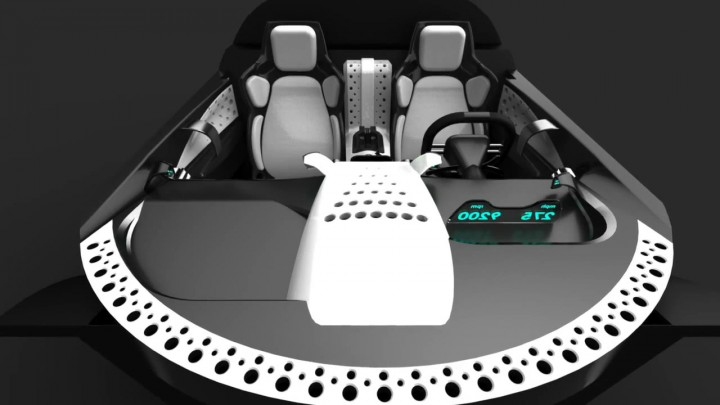 SSC Tuatara: interior preview - Car Body Design - photo#25
