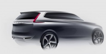 2014  Sketches on New Xc90 Design Preview Car Body Design   New Cars Review For 2013