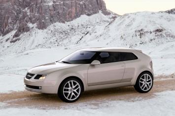 planet d 39 cars 2002 saab 9 3x concept car. Black Bedroom Furniture Sets. Home Design Ideas