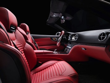 2013 Mercedes-Benz SL Interior