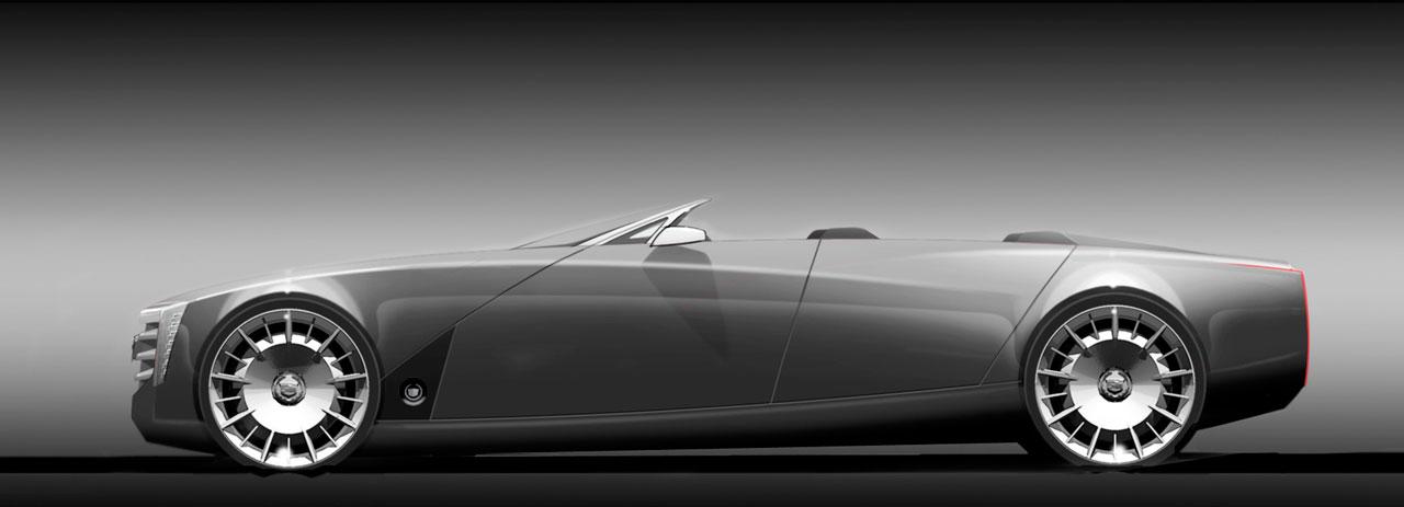 Cadillac Ciel Concept Design Sketch