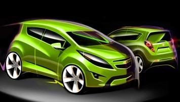Chevrolet Spark Design Sketch