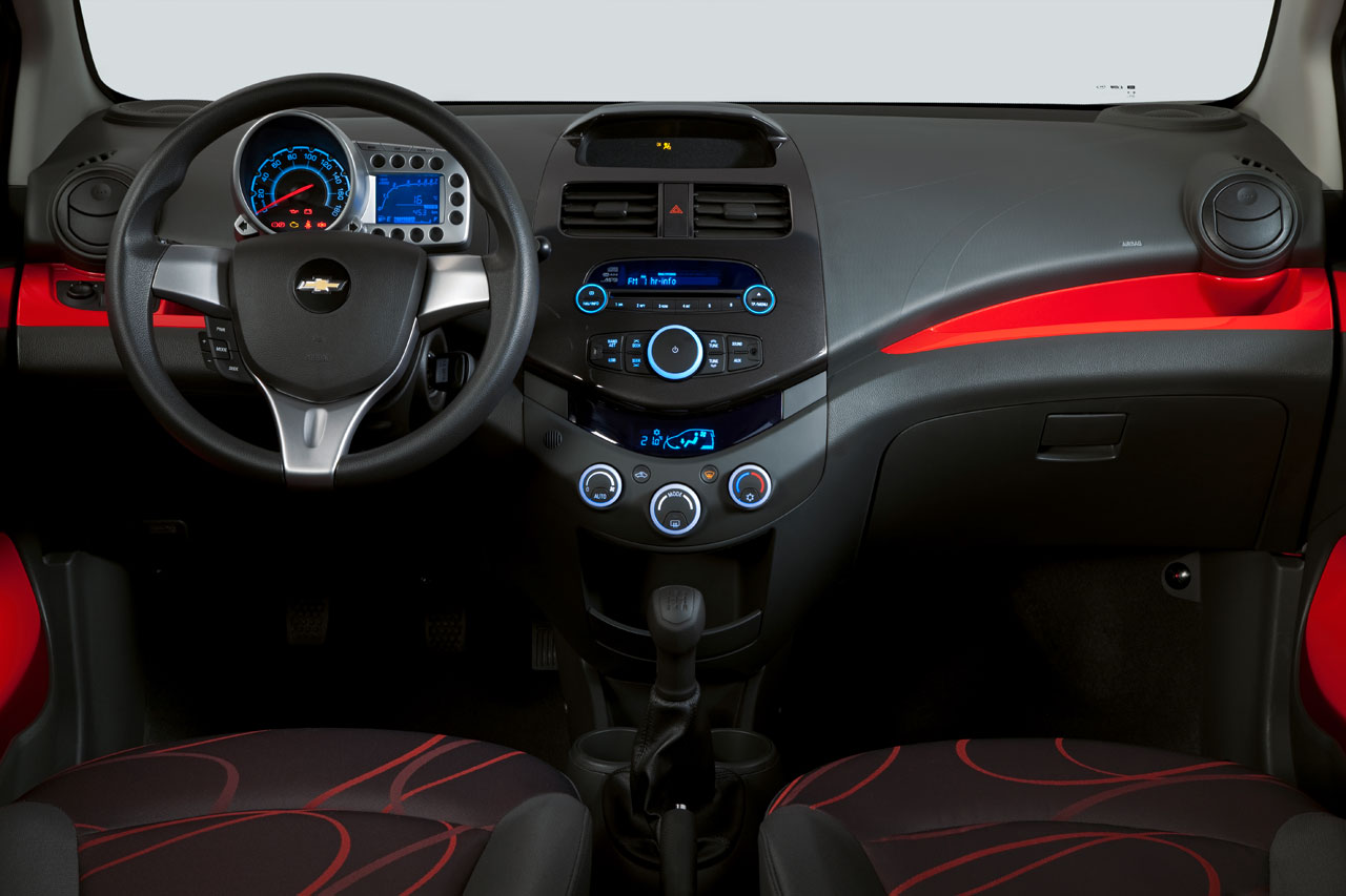 Chevrolet Spark Interior - Car Body Design