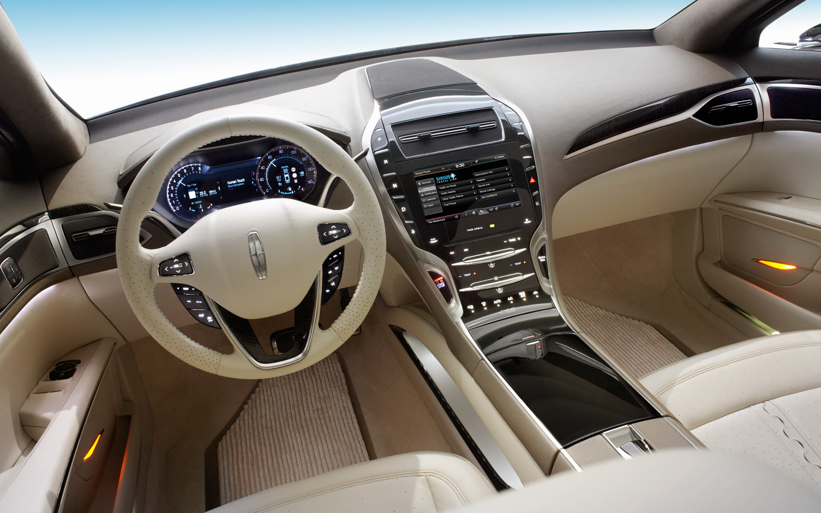 Lovely Lincoln MKZ Concept Interior Photo Gallery