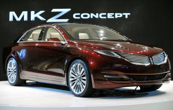 Lincoln MKZ Concept at NAIAS 2012
