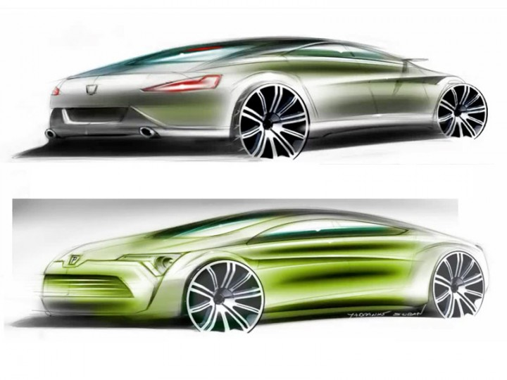 Peugeot Concept Sketch video tutorial