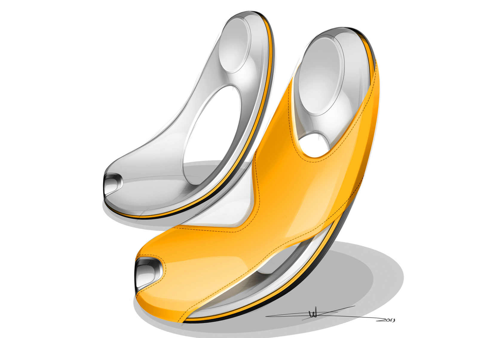 Smart For Us Concept Seats Design Sketch Car Body Design