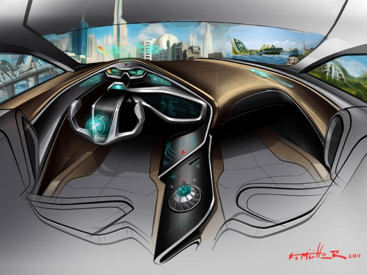 Nissan 2025 interior concept car body design - Car interior design ...