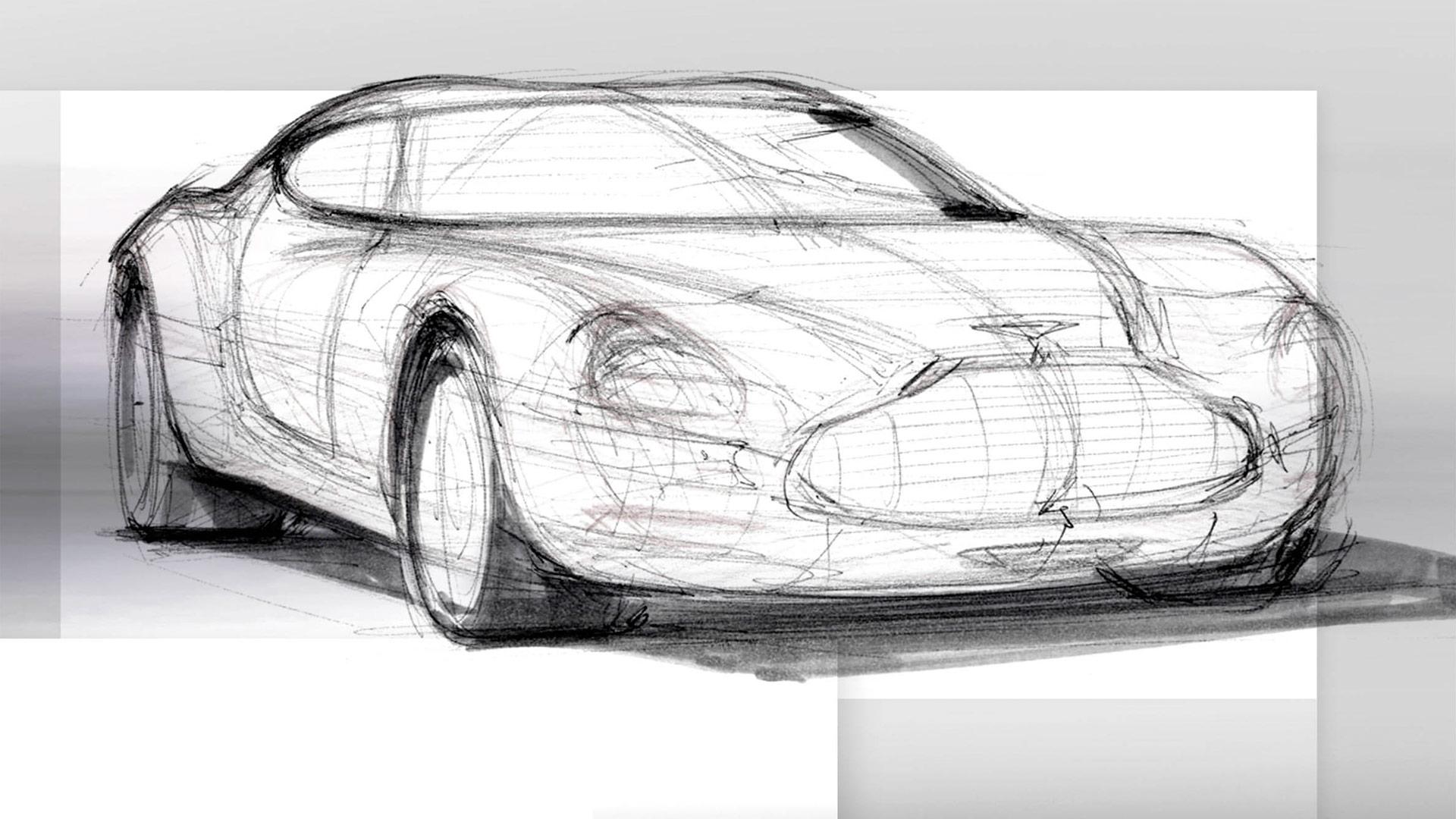 Aston Martin By Zagato History And Sketches Car Body Design