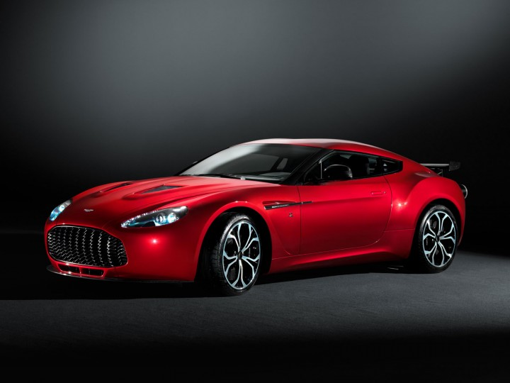 Aston Martin V12 Zagato: official images and details