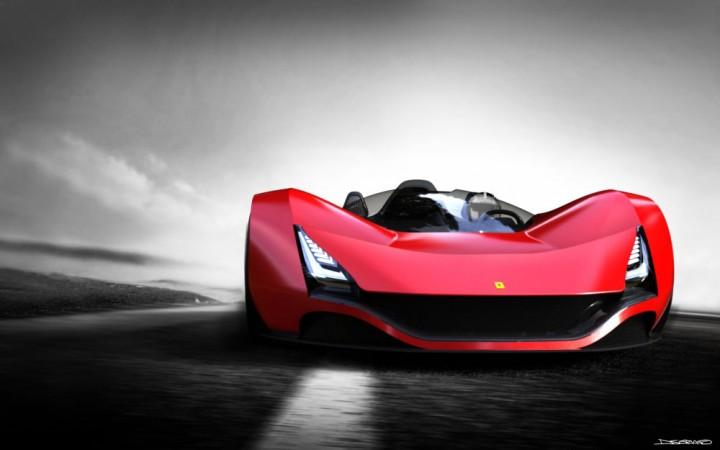 Ferrari Aliante Concept Car Body Design