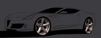 Photoshop Car Rendering Tutorial Step 02