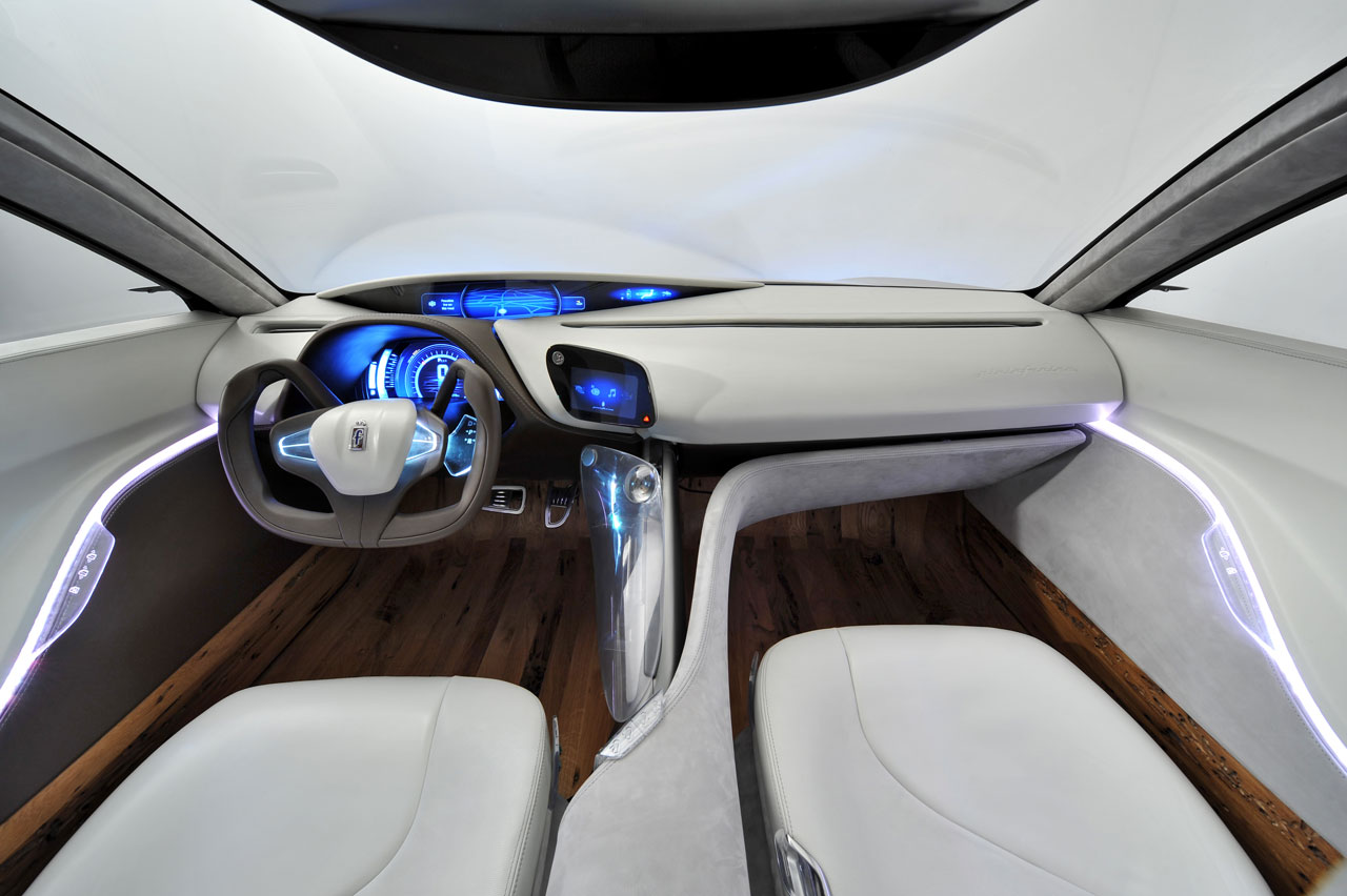 Pininfarina Cambiano Concept Interior Design Car Body Design