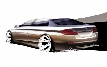 BMW 5 Series Design Sketch