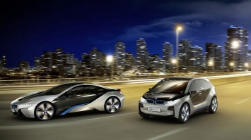 BMW i3 and 8 Concept Cars