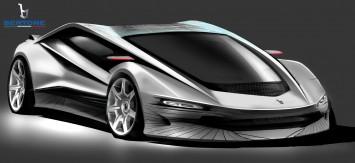 Bertone Nuccio Concept - Design Sketch