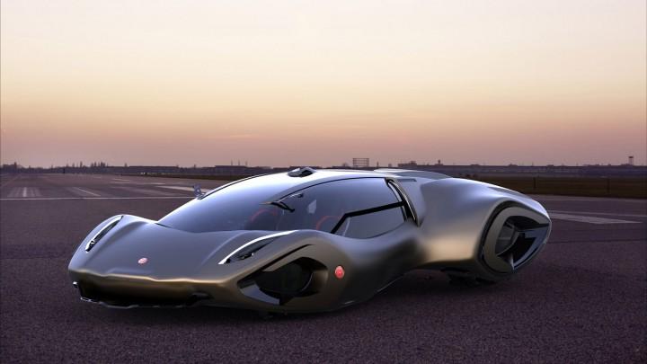 Bizzarrini Veleno Concept Car Body Design