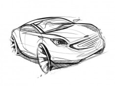 Car.digital-sketch-by-Spencer-Nugent