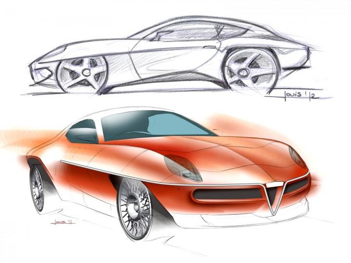 Touring Superleggera Disco Volante Concept Design Gallery Car