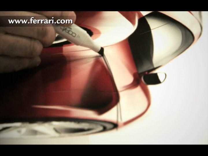 Ferrari F12berlinetta: design video