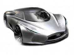 Infiniti Emerg-E Concept: design sketches