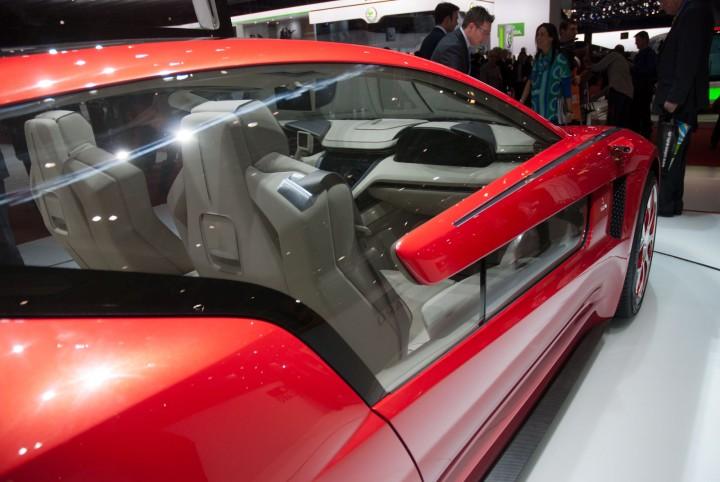 Italdesign Giugiaro Brivido Concept Car Body Design