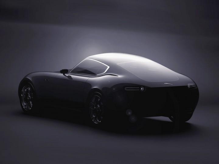 Jaguar E-Type Concept - Car Body Design