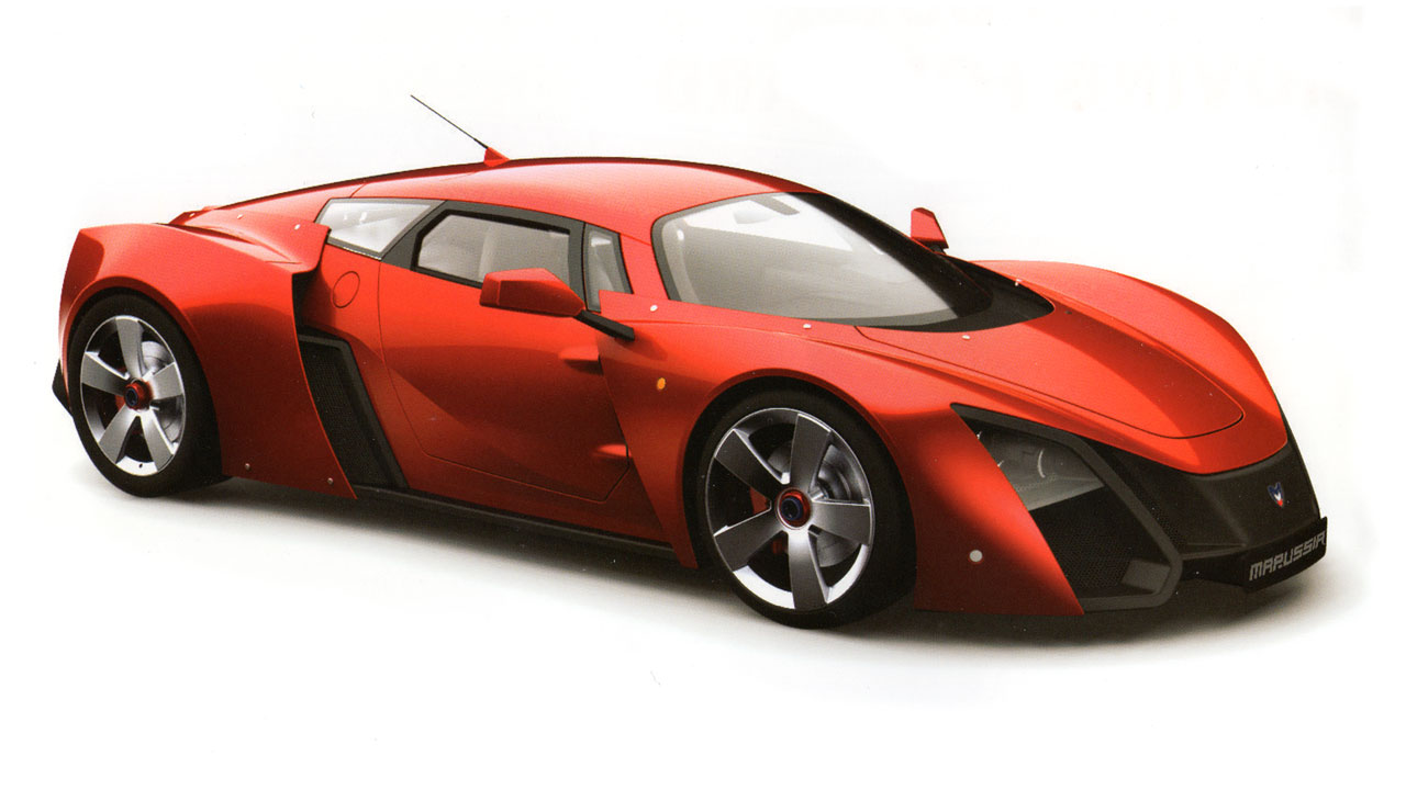 Marussia B2 - Car Body Design