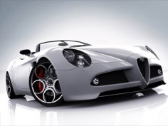 Alfa Romeo 8C Spider 3ds Max Tutorial