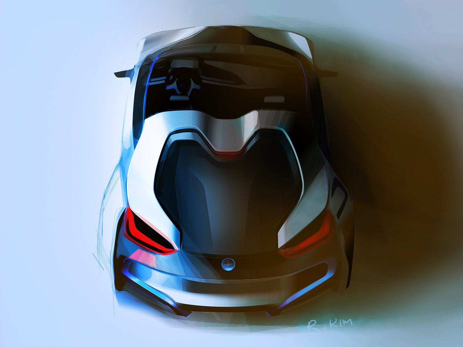 BMW i8 Concept Spyder - Design Sketch