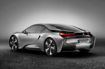 BMW i8 rendering by Sonny Lim