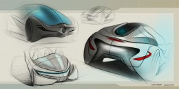 Buick Ula Concept - Design Sketches