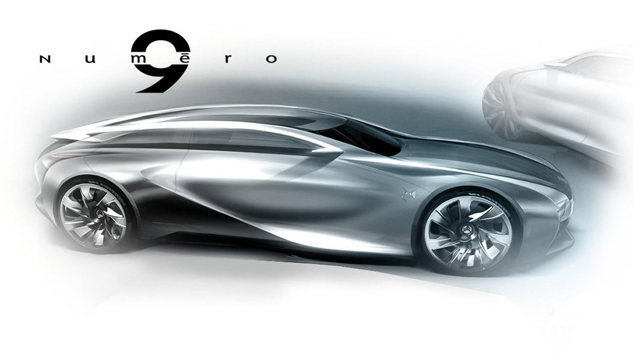 Citroen Numero 9 Concept Design Sketch Car Body Design