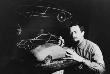 Ferdinand Porsche and the Modell Typ 911 (1968)